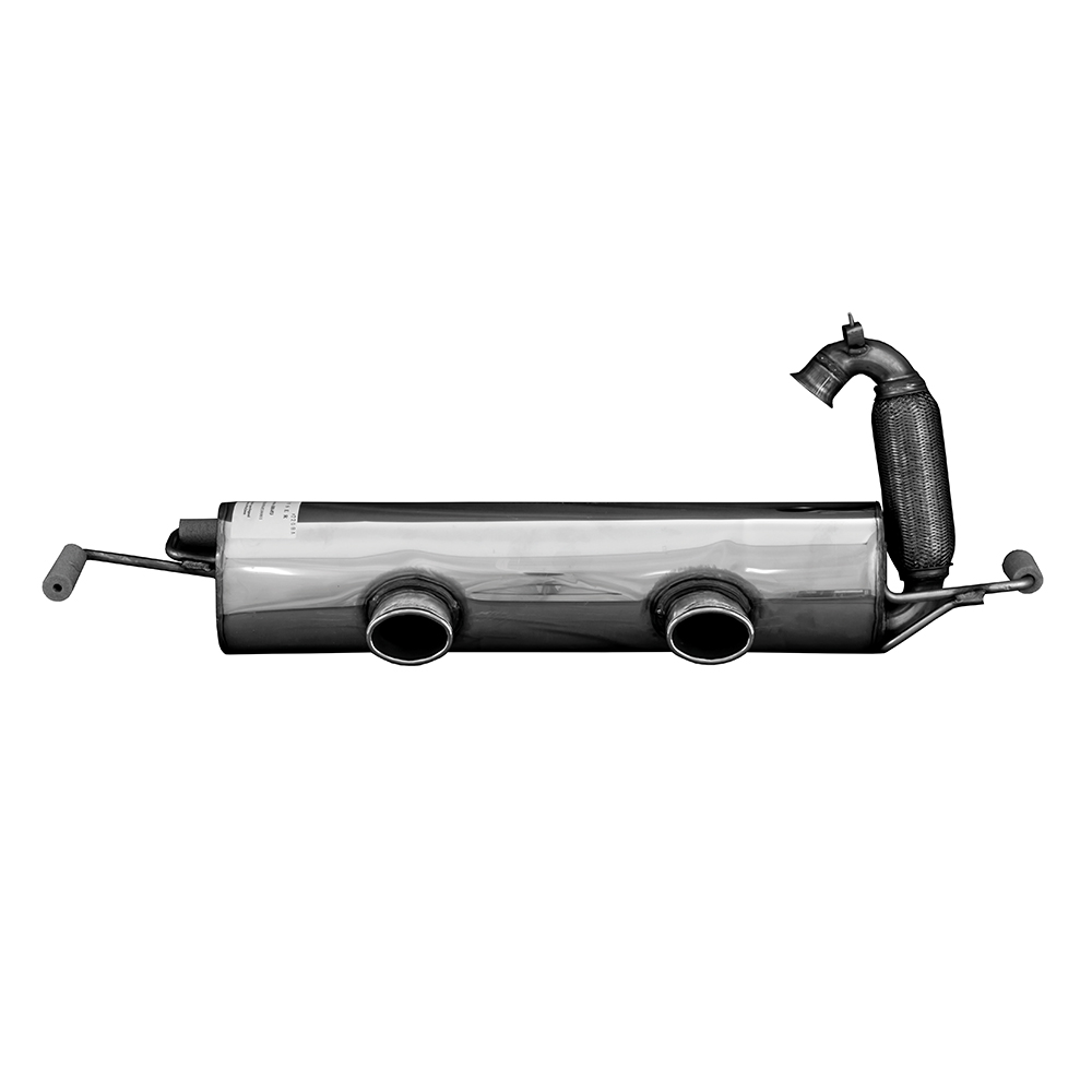 Sports exhaust rear muffler for Smart ForTwo & Cabrio (model 453)